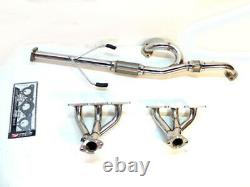 OBX Racing Exhaust Header For 2000 2004 Mitsubishi Eclipse GT 3.0L V6 6G72