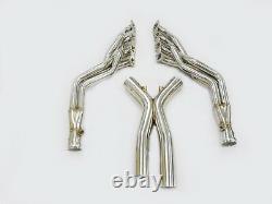OBX Racing Exhaust Long Tube Header For 2007-2013 BMW M3 4.0L V8 E90 E92 E93