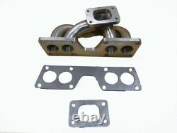 OBX Racing Sports Stainless Turbo Header Manifold For 2002-05 Nissan Sentra 1.8L