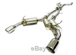 OBX Racing Stainless Catback Exhaust Fits 14 15 16 17 18 Infiniti Q50 3.7L FM