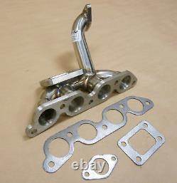 OBX Racing Stainless Turbo Header Manifold For 1993-1997 Toyota Corolla 1.8L
