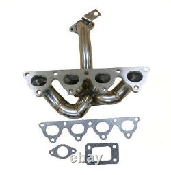 OBX Racing Turbo Header Manifold For 1996-2000 Honda Civic DX LX EX D16Y7 D16Y8