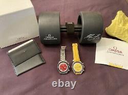 OMEGA Speedmaster Racing Michael Schumacher Yellow 3510.12 Chronograph Watch