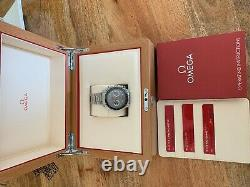 Omega Speedmaster Racing Co-Axial Master Chronometer withBox&Papers