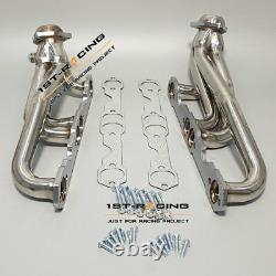 SHORTY EXHAUST HEADER MANIFOLD Fit Chevy GMC 5.0 /5.4 / 5.7 small block V8 New