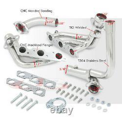 Stainless Exhaust 3-1 Manifold Header For 1995-2002 Chevy Camaro Firebird F-Body