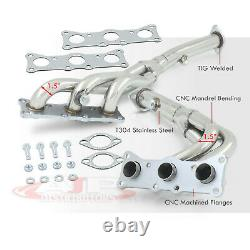 Stainless Exhaust Racing Manifold Header For 2006-2013 BMW 3-Series N52 2.5-3.0L