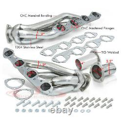 Stainless Exhaust Shorty Headers For Chevy GMC Big Block V8 396 402 427 454 502