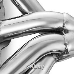 Stainless Racing Block Hugger Exhaust Headers Fits Chevy LS1 LS6 Shorty