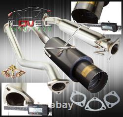 Stainless Steel Catback Exhaust 65mm 4.5 Tip For 2002-2006 Acura RSX DC5 Type-S