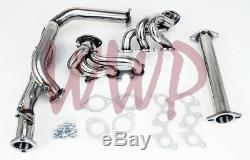 Stainless Steel Exhaust Headers Manifold System For 96-01 Camry/Solara 3.0L V6