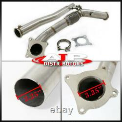 Stainless Steel Exhaust Turbo Downpipe For VW Golf V VI MK5 MK6 2.0 / Passat B6