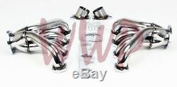 Stainless Steel Racing Exhaust Header Manifold Cadillac Big Block V8 425 472 500