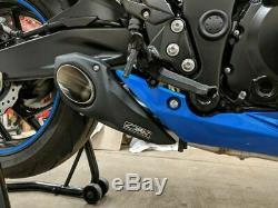 Suzuki GSX-S 750 Full system Exhaust Muffler dB Killer CS Racing Click for Video