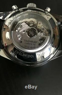 Tag Heuer Carrera Racing Chronograph Swiss Automatic Chrono Wrist Watch