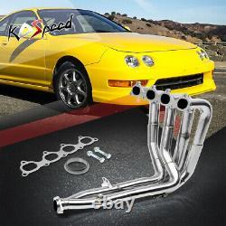 Tri-y Stainless Steel Racing Exhaust Header Acura Honda Integra B-series B18b1