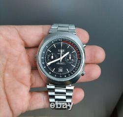 Vintage 1970's Heuer Montreal Cal. 12 Automatic Racing Chronograph Watch NSA
