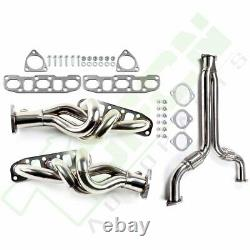 Y-PIPE DOWNPIPE RACING+EXHAUST HEADER For Nissan 350Z for Infiniti G35 03-07