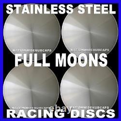15 Plein Moon Hot Rod Racing Disc Hub Caps Solide Wheel Couverts Rims Nouvelle Série De 4