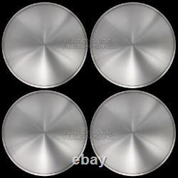 16 Ensemble De 4 Couvertures De Roue Solide Moon Snap On Hub Caps Fit R16 Tire & Rim En Acier