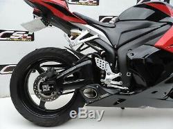 2007-12 Honda Cbr600rr + Plein D'échappement Silencieux Têtes + Cs Racing Db Killer