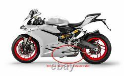 2016 Sur Ducati Panigale 959 Cs Racing Échappement Slip-tip Vidéo Disponible