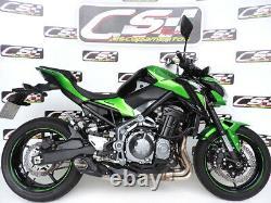 2017-20 Kawasaki Z900 Slip-silencieux D'échappement Db Killer Cs Racing Cliquez Sur La Vidéo