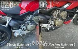 2018-21 Échappement D'échappement Du Silencieux Ducati Panigale V4 Cs Racing Slip-on