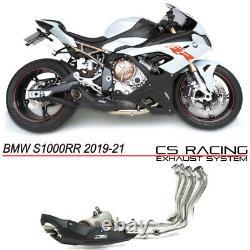 2019-21 Bmw S1000rr Full Exhaust Cs Racing Vidéo Sound Dans La Description