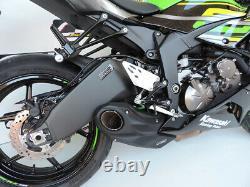 2019-21 Kawasaki Zx-6r Ninja 636 Cs Racing Slip-on Exhaust + Db Killer (+3,7ch)