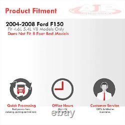 3.5 Slant Dual Muffler Tip Ss Cat Back Echappement Pour 2004-2008 Ford F150 4.6 5.4