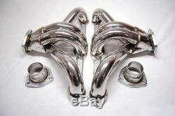 350 327 305 Chevrolet Inox Têtes Hugger Sbc Collecteurs Racing Echappement
