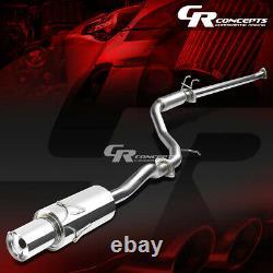 4 Muffler Tip Catback Racing Système D'échappement Pour 06-11 Honda CIVIC Ex/lx Fg 1.8l