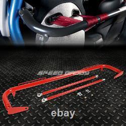 49 Acier Inoxydable Course De Sécurité Ceinture De Siège Châssis Roll Harness Bar Rod Red