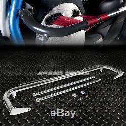 49 Racing En Acier Inoxydable De Sécurité Ceinture De Sécurité Châssis Rouleau Harnais Bar Rod Chrome