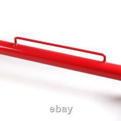 49 Rouge Universal Acier Inoxydable Racing Ceinture De Sécurité Roll Barre D'harnais