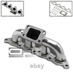 Acier Inoxydable T3 Racing Sport Turbo Manifold 97-02 Mitsubishi Mirage Es/ls 1.8l 4g93