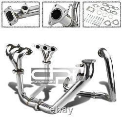 Acier Inoxydable T3 Racing Sport Turbo Manifold 98-02 Honda Accord V6 3.0l Cg1-cg6 J30a