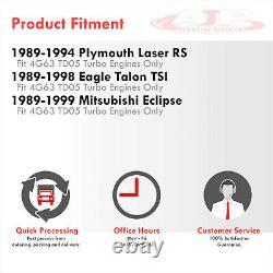 Acier Inoxydable Td05 Turbo Manifold Header Pour 1990-1999 Eclipse 1g 2g Dsm 4g63