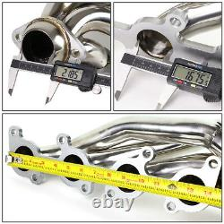 Ajustement 11-14 Ford F150 5.0 Coyote V8 Stainless Steel Racing Header Exhaust Manifold