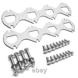 Bfc Racing Exhaust Shorty Header Manifold Pour 05-10 F250/f350 Superduty Sd 5.4l