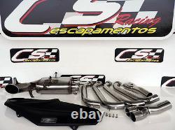 Bmw S1000-2014 Bmw S1000rr Cs Racing Full Exhaust + Header + Db Killer Deep Sound