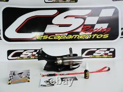 Bmw S1000rr 2015-16 Slip-silencieux D'échappement Cs Racing Son Meilleur Jamais -pas-tête