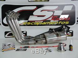 Bmw S1000rr Cs Racing Complète Échappement Système + Tête 2010-2014 Son Meilleur Jamais