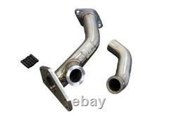 Cnt Racing Externe Wastegate Up Pipe Avec Dump Tube 44mm V-band Wrx / Sti / Lgt / Fxt