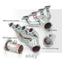 Échappement De L'en-tête En Acier Inoxydable Ls Pour Chevy S10 4.8l 5.3l 5.7l 6.0l 6.2l V8