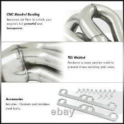 En Acier Inoxydable Racing Exhaust Manifold Header Pour 1994-2002 Dodge Ram 5.2/5.9l