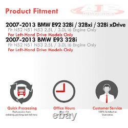 En-tête De Collecteur De Course D'échappement Inoxydable Pour 2006-2013 Bmw 3-série N52 2.5-3.0l