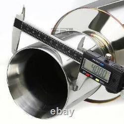 Fit 01-05 Altezza Est 300 2jz Xe10 4 Rolled Muffler Tip Racing Catback Exhaust