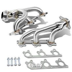 Fit 05-10 Mustang 4.0/v6 Manipold D'échappement Inoxydable 2x 3-1 Racing Header+gaskets